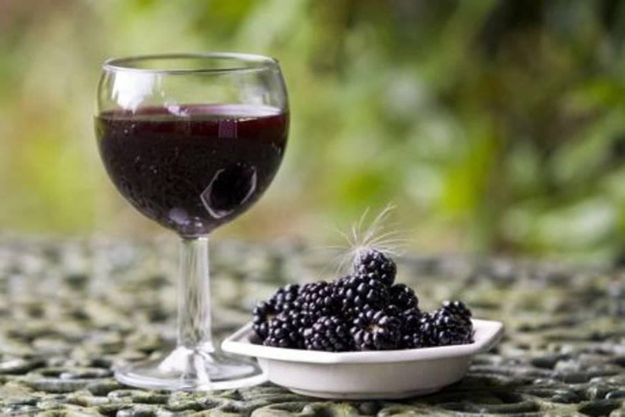 Ежевичное вино - рецепт приготовления в домашних условиях, видео