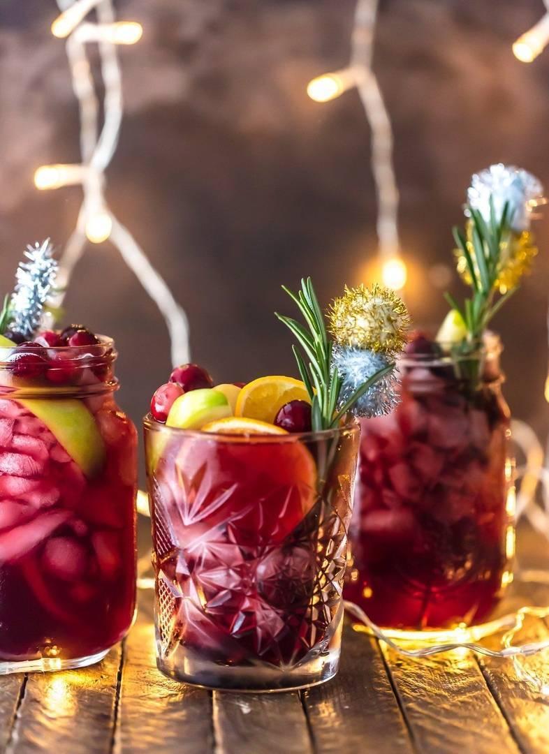 Новогодние напитки 2020 – топ 8 лучших рецептов