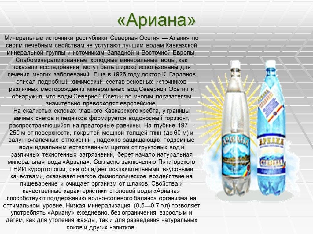 Какую минеральную воду пить?