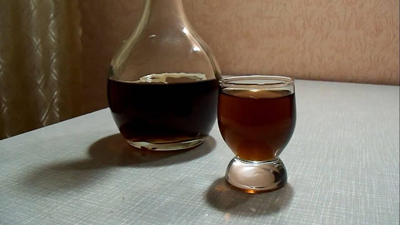Гранатовая настойка и ликер на водке