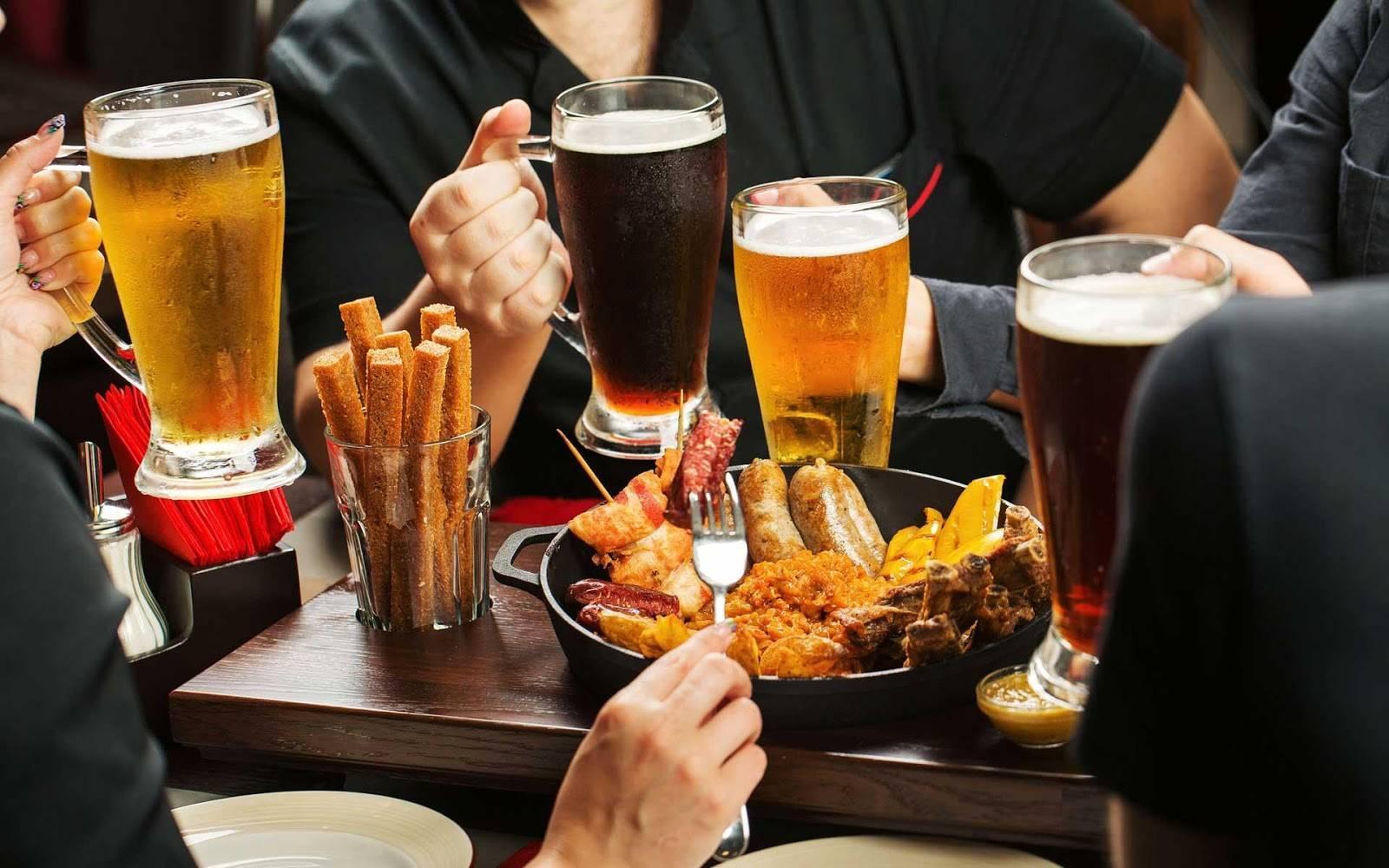Пенный отдых: с чем пить пиво
