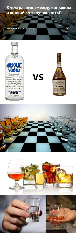 Разница между водкой и самогоном