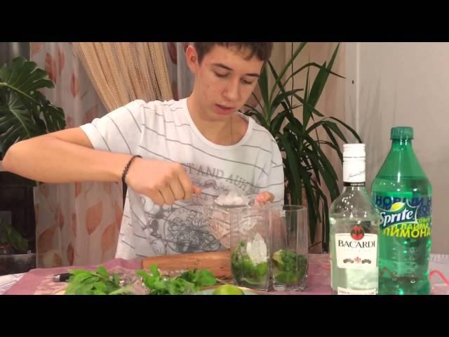Алкогольный мохито - рецепты с ромом, джином, водкой, сиропом и клубникой