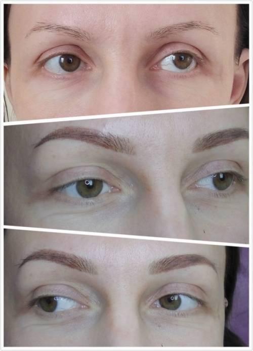 Можно л пить до или после процедуры перманентного макияжа бровей, губ и глаз