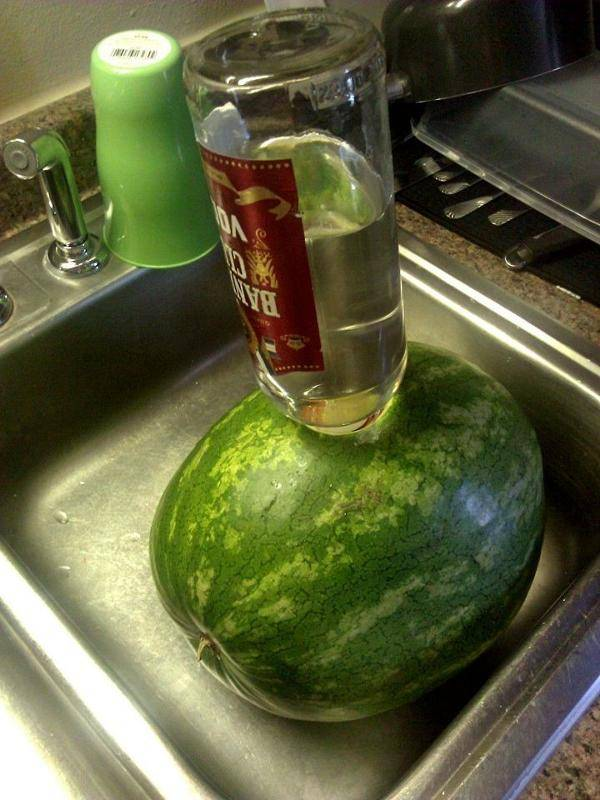 Как накачать арбуз водкой, спиртом, текилой и джином | здоровье и красота