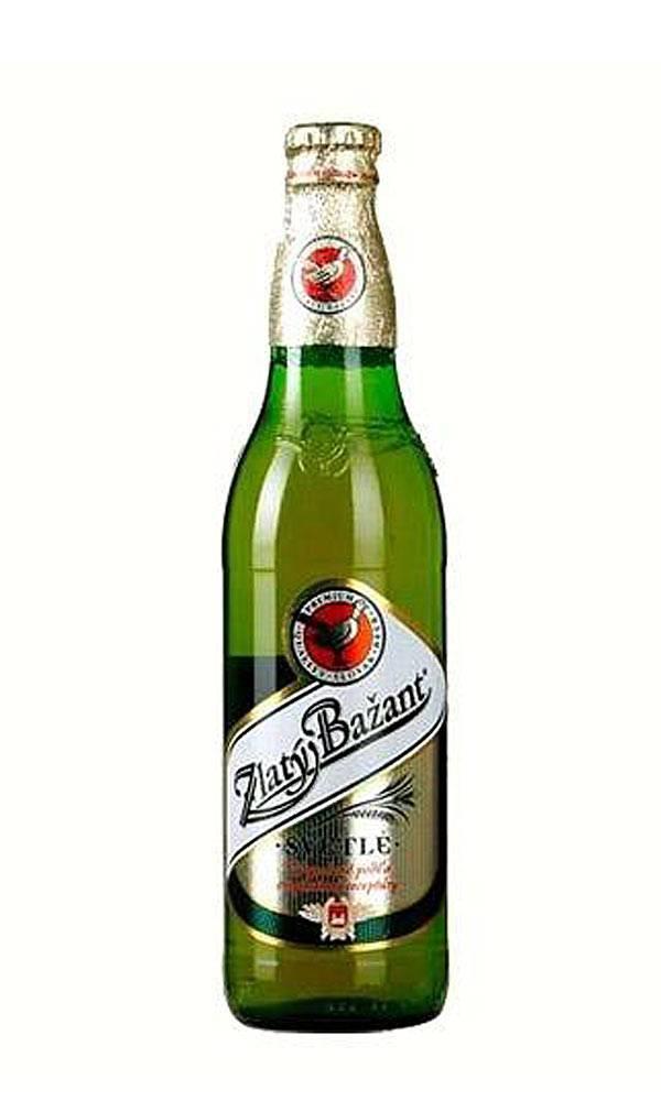 """Пиво zlaty bazant zlaty bazant """"черное"""""""