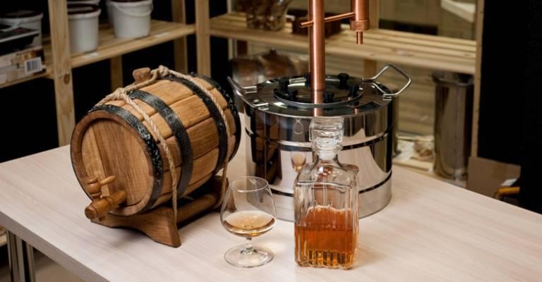 Напитки из самогона — виски, ром, коньяк, текила
