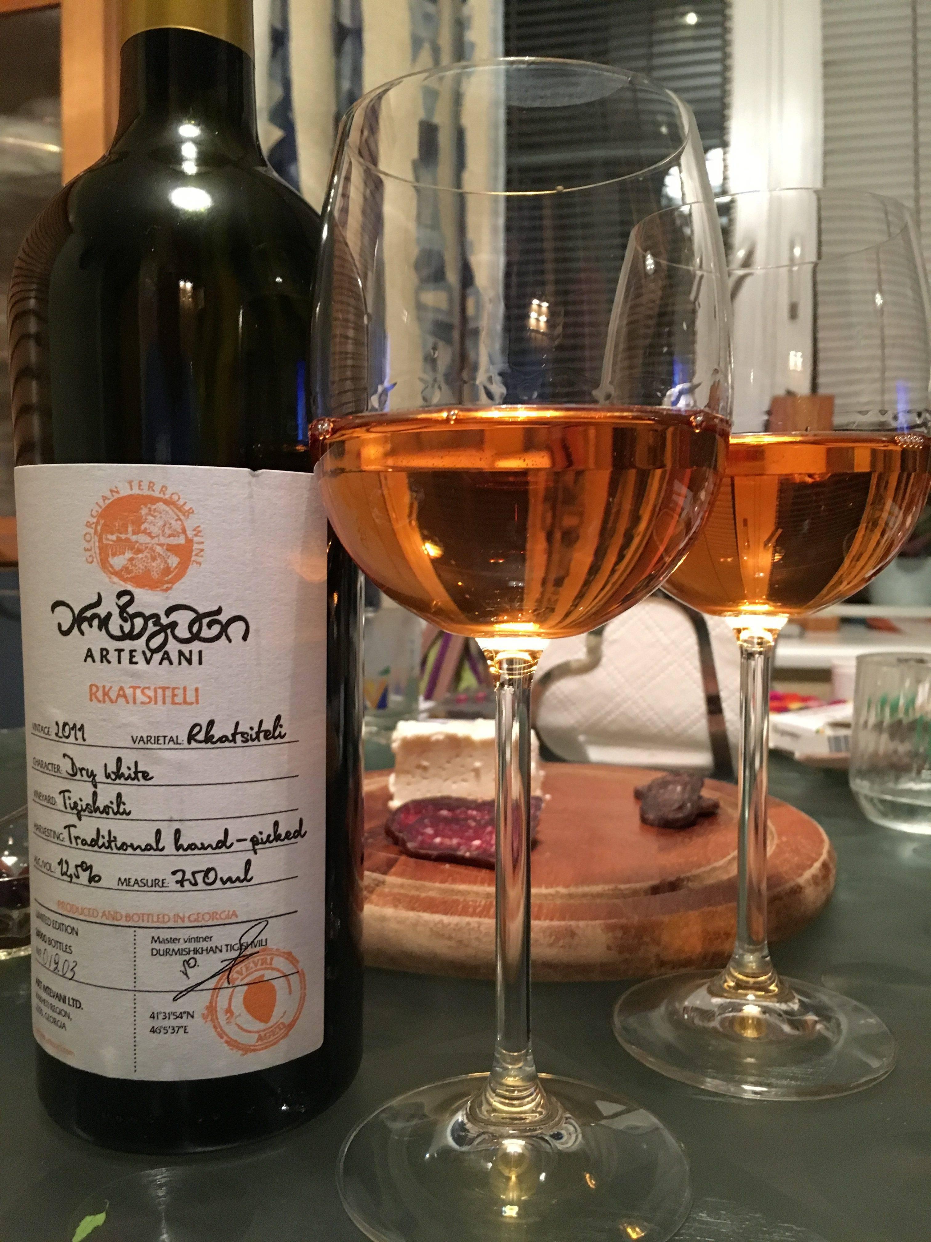 Обзор оранжевых вин