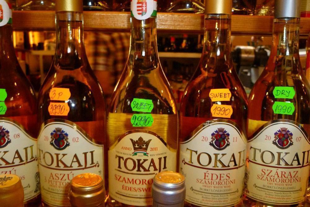 3 самых вкусных вина венгрии