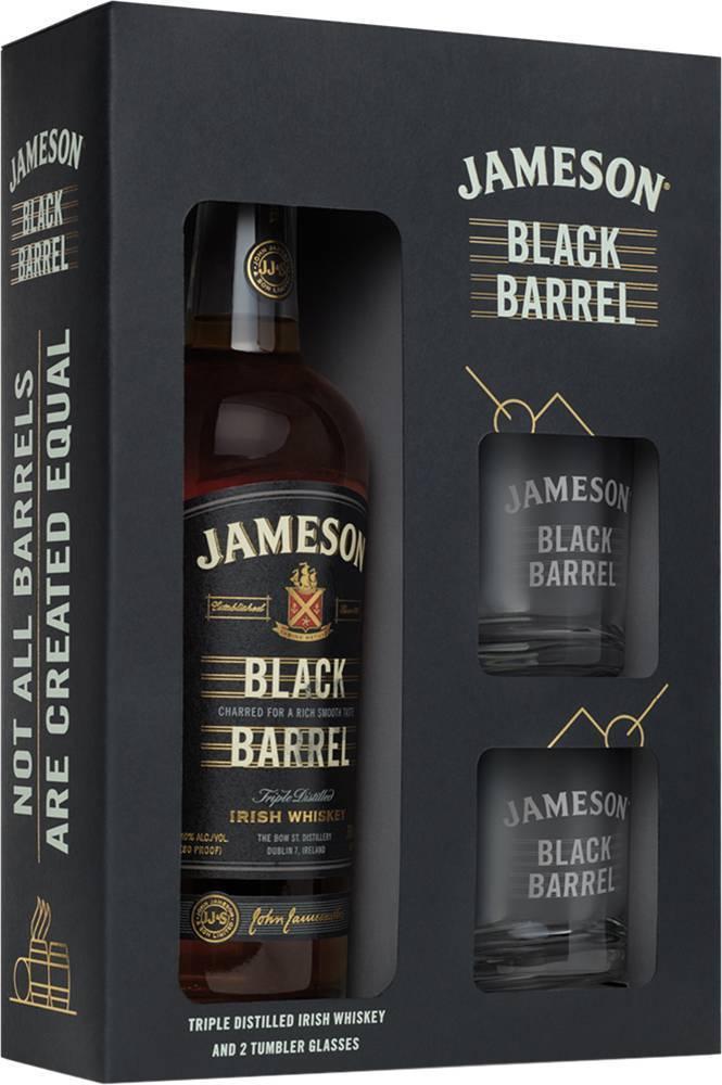 Jameson black barrel select reserve irish whiskey (1l)