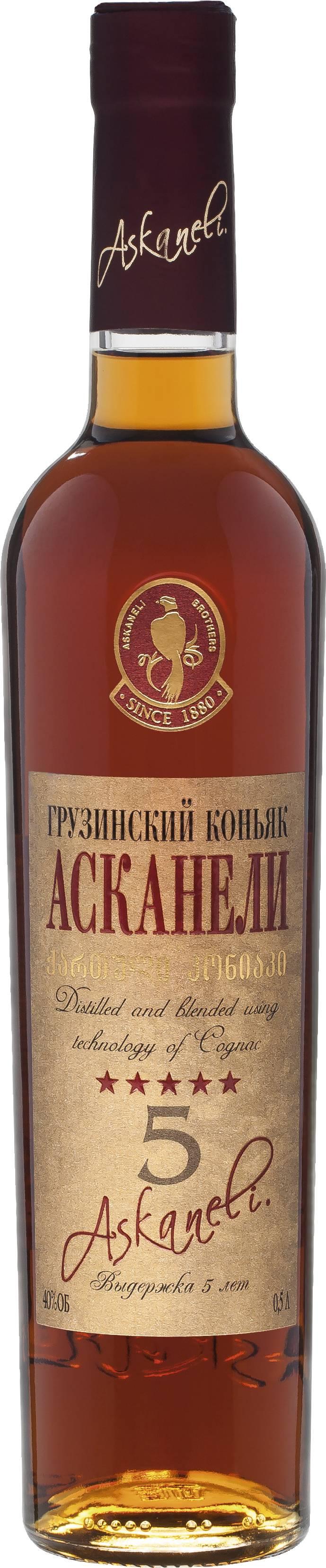 «асканели» - коньяк из самого сердца грузии