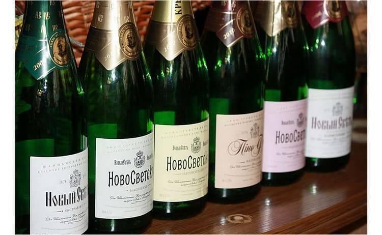 Шампанское новый свет и его особенности