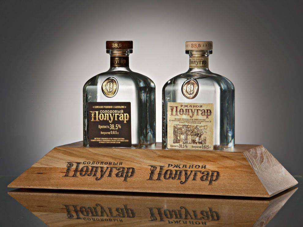 Полугар — первый русский национальный напиток