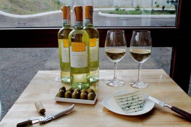 Калорийность вина белого и красного