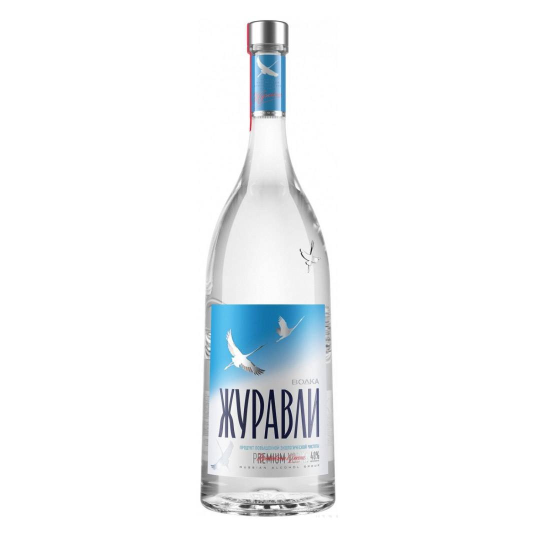 Обзор водки Журавли