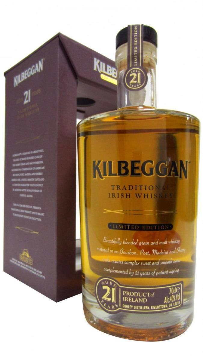 Виски килбегган kilbeggan irish whiskey описание, особенности производства, разновидности и цена ирландского напитка