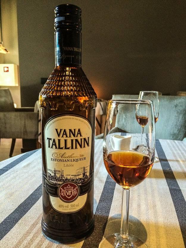 Ликер vana tallinn (вана таллинн) – описание, виды, культура пития