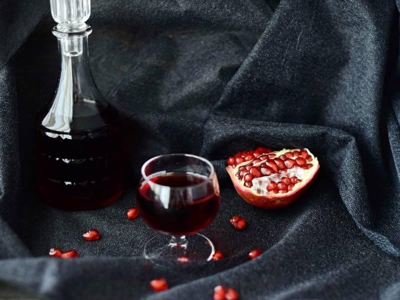 Гранатовый ликер в домашних условиях: рецепты приготовления