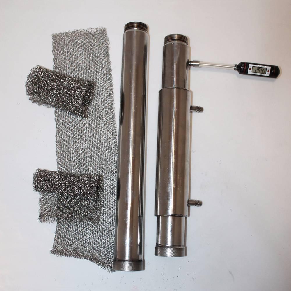 Функции и изготовление дефлегматора для самогонного аппарата