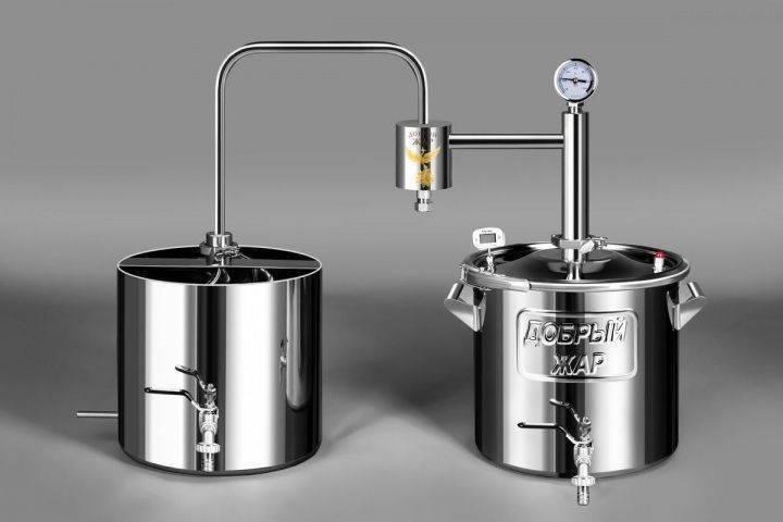 Компактный самогонный аппарат меркурий
