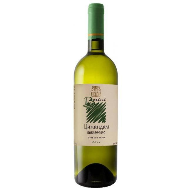 Цинандали (tsinandali) – узнаваемое грузинское белое вино