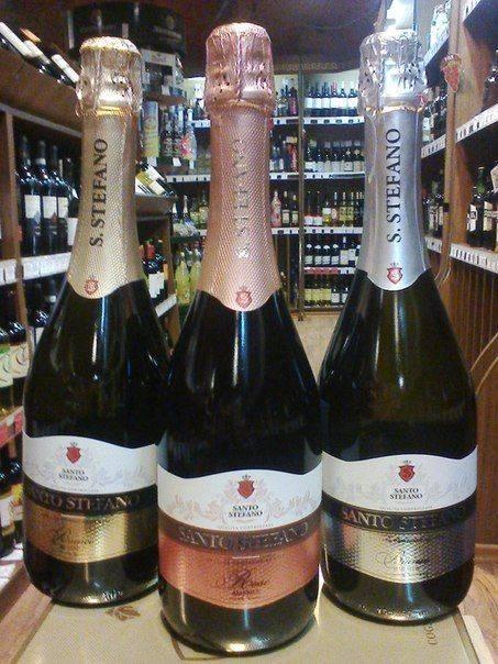 Шампанское санто стефано: вкусы, производитель, цена, состав