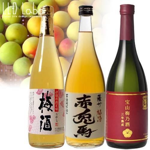 Сливовое вино родом из японии