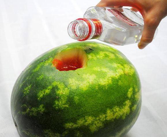 Арбуз с водкой - как накачать ягоду алкоголем, приготовить настойку или желе с фото и видео рецептами