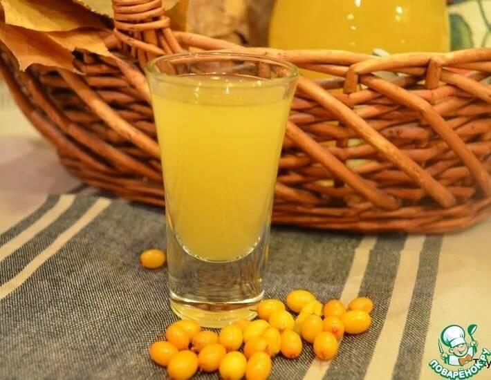 Настойка из облепихи в домашних условиях по простому рецепту на водке, самогоне и спирту