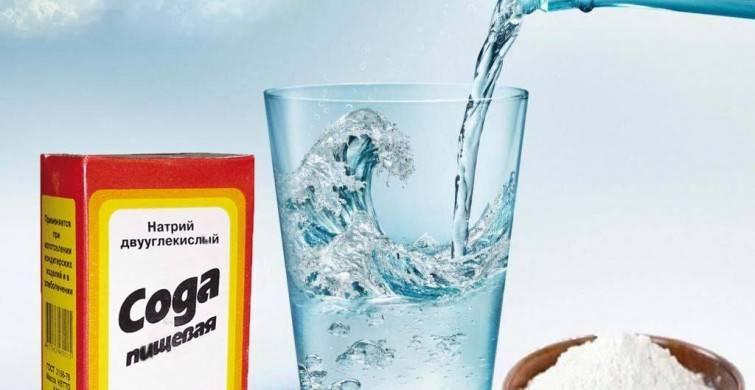 Вода с солью и содой при похмелье