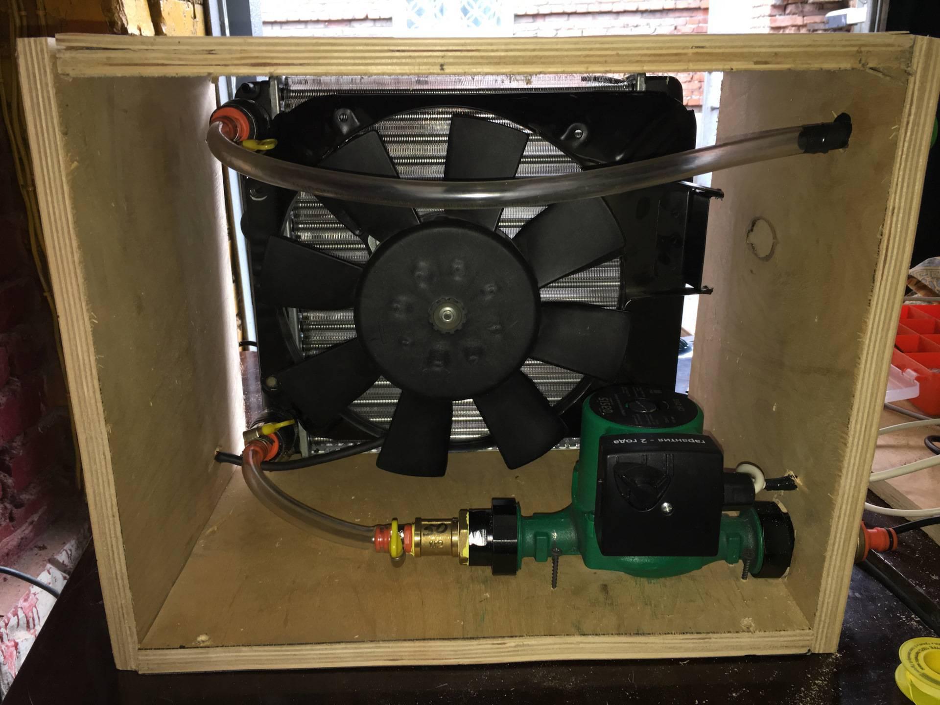 Делаем автономное охлаждение для самогонного аппарата