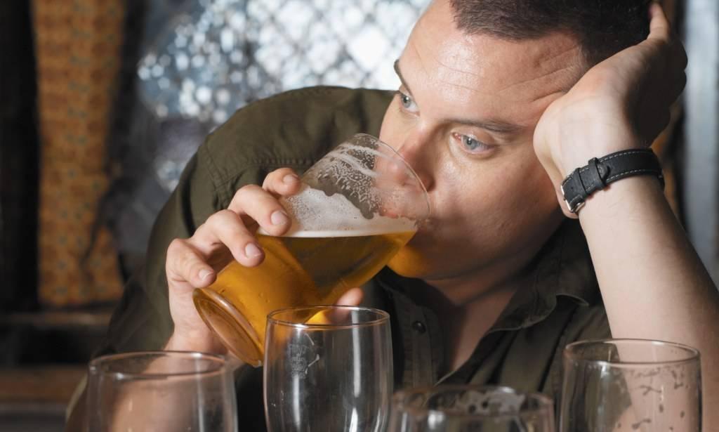 Количество выпитого для опьянения