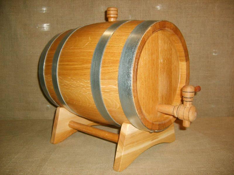 Подготовка дубовой бочки для самогона: вощение тары для коньяка перед использованием