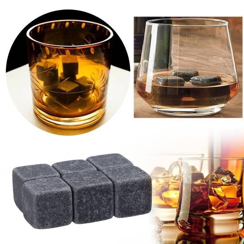 Камни для охлаждения виски: из чего они изготовлены, как использовать их в напитке