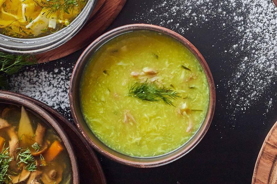 Суп от похмелья и простуды