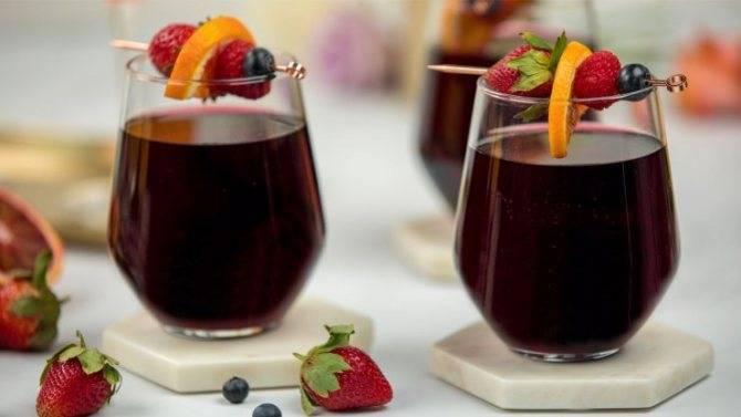 Коктейли с вином: с красным, белым, розовым, игристым - проверенные рецепты приготовления, полезные советы | mosspravki.ru