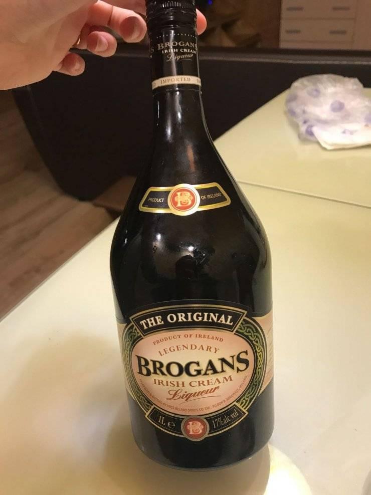 Ликер броганс айриш крим — история алкоголя