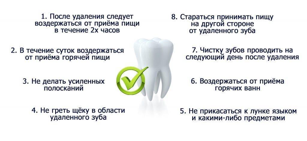 Когда можно пить алкоголь после удаления зуба