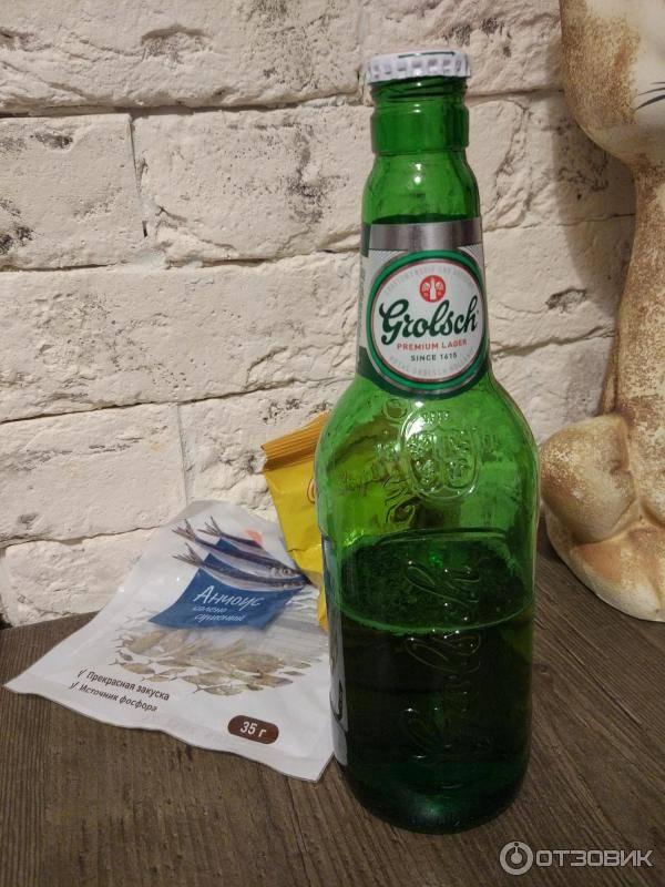 Пиво grolsch (гролш): обзор напитка, его сорта и характеристики