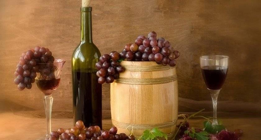 Как быстро приготовить вино в домашних условиях