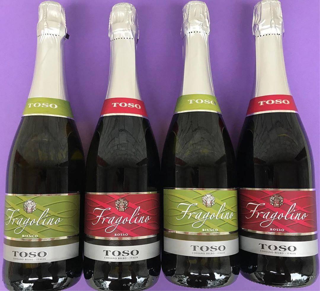 Фраголино (fragolino) — необычное клубничное шампанское