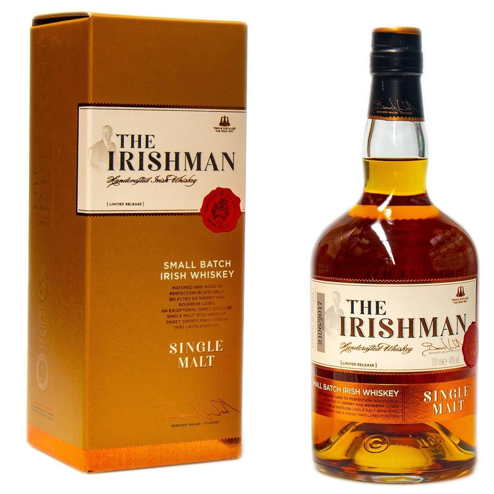 Виски irishman (айришмен) и его особенности