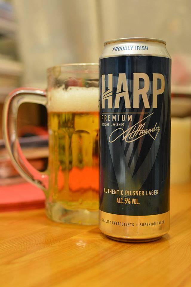 Пиво харп описание — история алкоголя