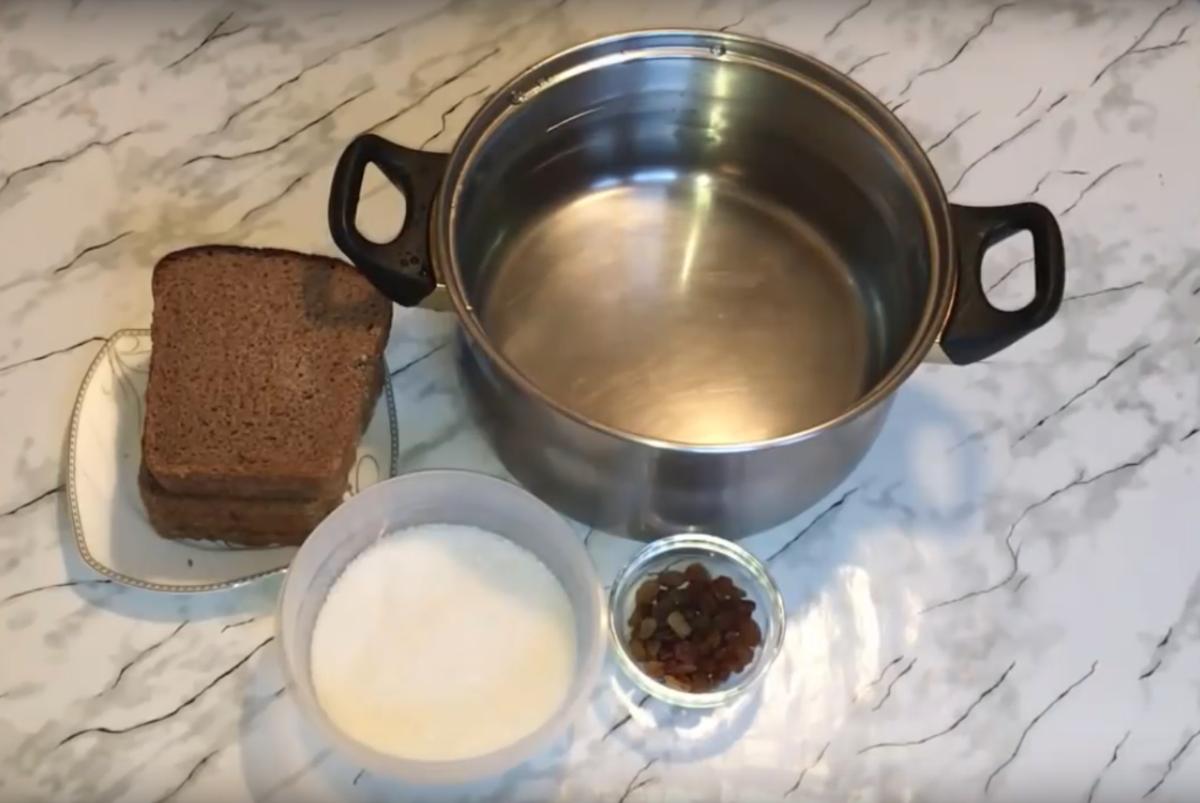 Квас хлебный без дрожжей – кулинарный рецепт