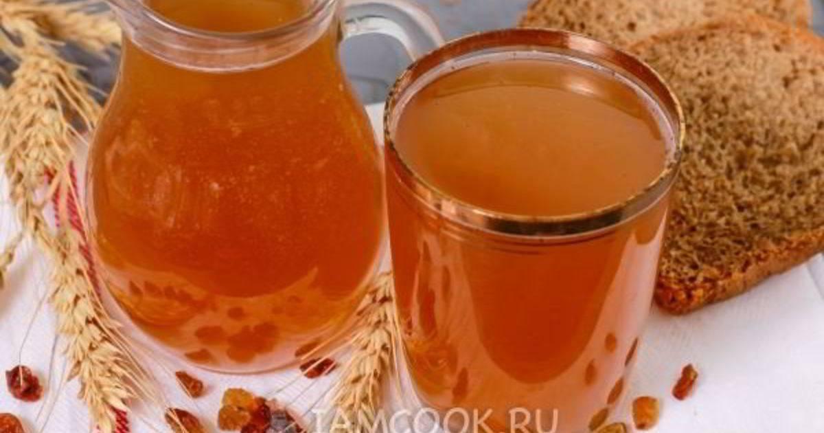 Квас на березовом соке с изюмом: полезные рецепты