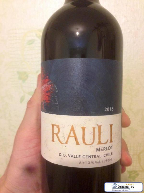 Вино мерло красное сухое, характеристика вина