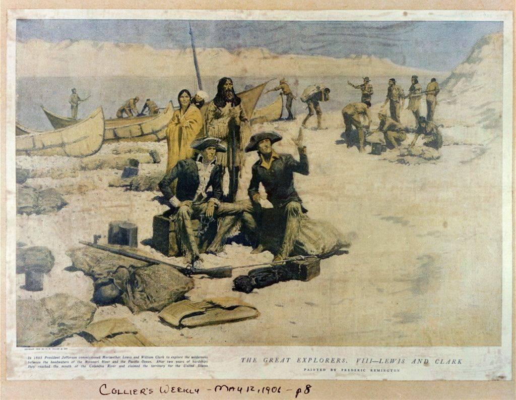 Экспедиция льюиса и кларка — википедия. что такое экспедиция льюиса и кларка