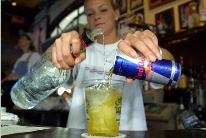 Водка с энергетиком: что будет, если смешать с редбулом, последствия, эффект, рецепт и пропорции для приготовления коктейля