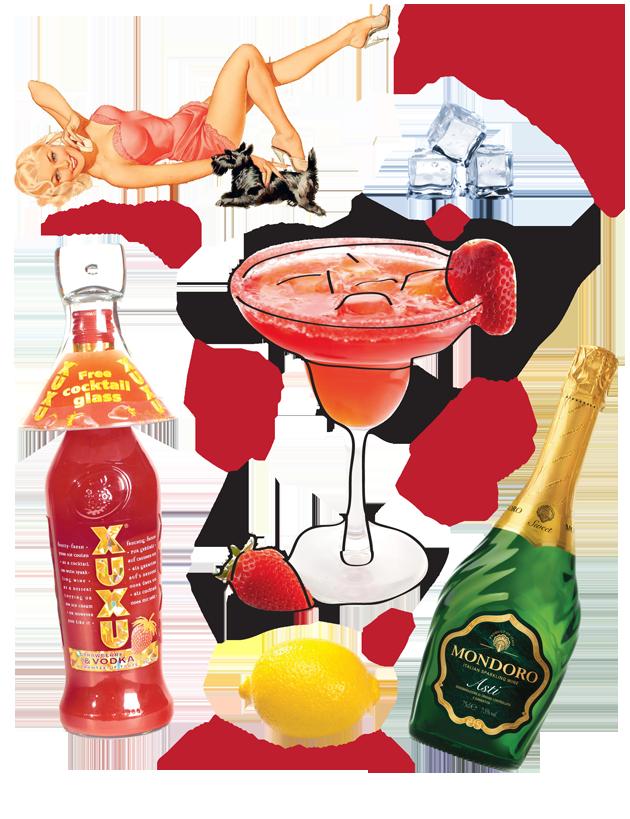 Правила подачи клубничного ликера, рецепты лучших коктейлей