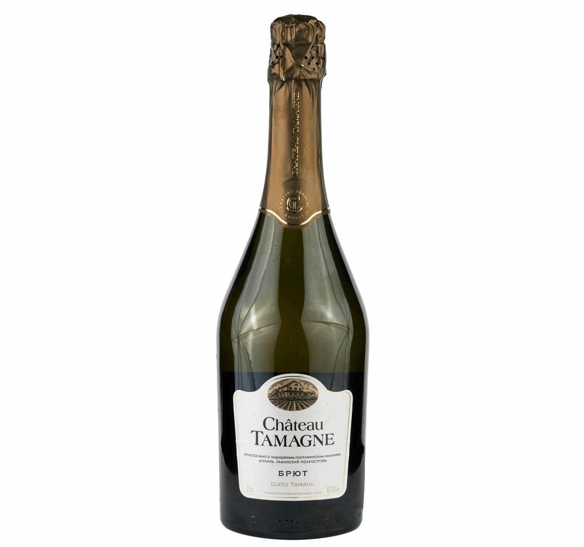 Шампанское  «шато тамань» - российский продукт отличного качества